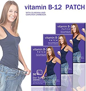 Natural Energy Patches, with Guarana and Garcina Cambovgia (60)