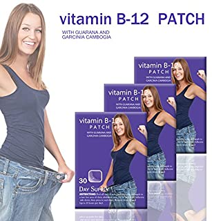 Natural Energy Patches, with Guarana and Garcina Cambogia (30)