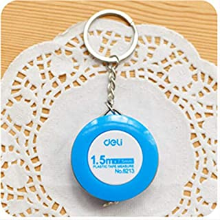 Outgeek Novelty Candy Color Keychain Retractable Tape Measure Pull Ruler 5 Feet