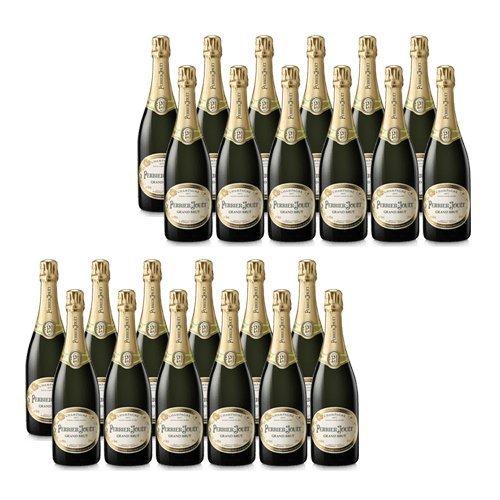 Perrier Jouet Grand Brut - Vino Espumoso - 24 Botellas