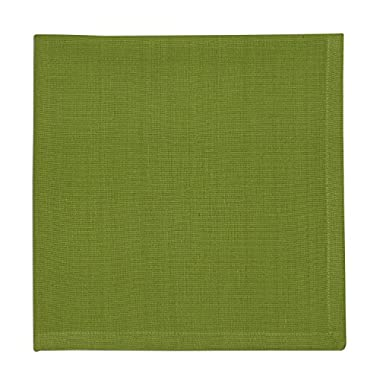 DII 100% Cotton, Oversized Basic Everyday 20x20 Napkin Set of 6, Gecko Green