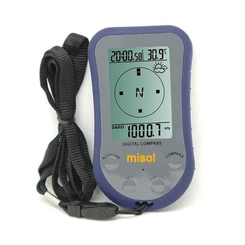 後悔ハロウィン抗生物質WS-110防水LEDデジタル温度計コンパス屋外高度計高度計気圧計