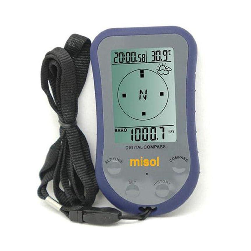データムライン請求WS-110防水LEDデジタル温度計コンパス屋外高度計高度計気圧計
