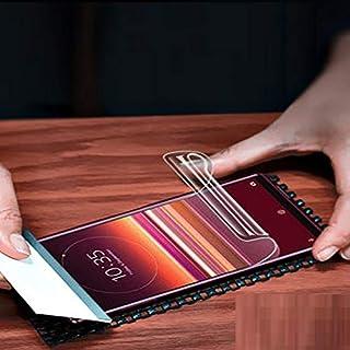 واقيات شاشة الهاتف - لهاتف Xperia 10/10 II طبقة لاصقة كاملة لغشاء هيدروجيل لهاتف Xperia 10 Plus X10+ واقي للشاشة غير زجاجي...