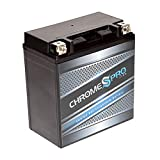 700 quad battery - Rechargeable YTX20CH-BS Chrome Pro High Performance Power Sports Battery - Replacement Jet Ski