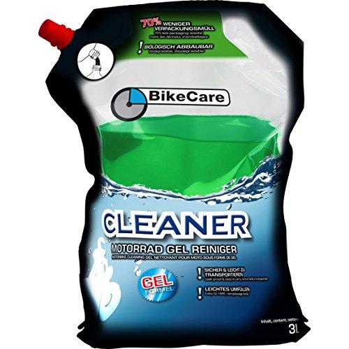 BikeCare Cleaner Motorrad Gel Reiniger, Vorratsbeutel 3 Liter, Multipurpose, Ganzjährig