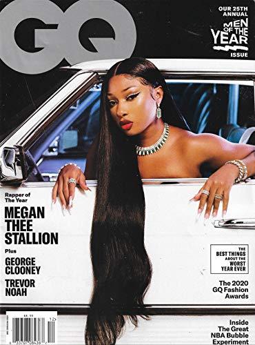 GQ Magazine (December 2020/January 2021) Megan Thee Stallion Cover