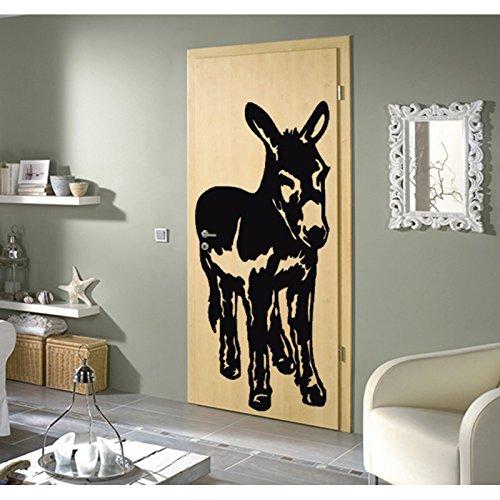 TATOUTEX Stickersnews - Adesivo Asino del poito, 90 x 206 cm, Colore: Bianco
