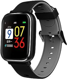 YZY Pulsera Actividad, Rastreador de Actividad Impermeable IP67 con podómetro y Monitor de sueño, Pulsera de Reloj Deportivo Inteligente for Hombres y Mujeres
