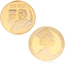 W-Fight Ned Kelly Commemorative Coins Copper Collection Gifts Souveniors with Zinc Alloy,Best Choice for Your Friends AS A Xmas, New Year,Birthday Gift