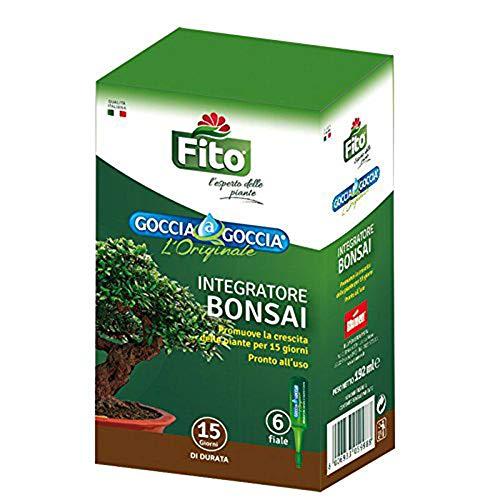 FITO Dünger Bonsai Liquid Drop Droplet Release für Pflanzen 6 Durchstechflaschen à 32 ml pro Packung | Gebrauchsfertig, bereits verdünnt | Verstärkt die natürlichen Abwehrkräfte von Bonsai (1)