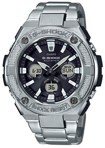 [カシオ] 腕時計 ジーショック G-STEEL 電波ソーラー GST-W330D-1AJF メンズ シルバー