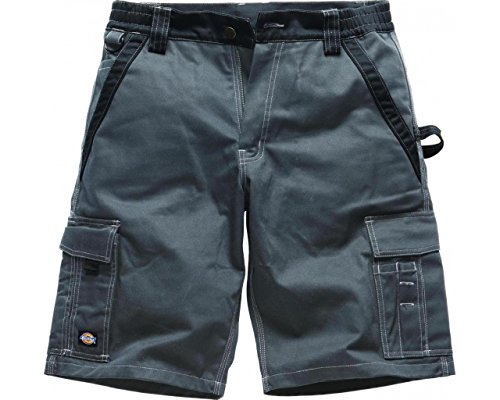 Dickies Bermuda Short Industry 300 grijs/zwart GBK64, IN30050