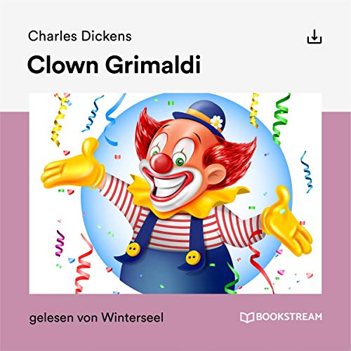 Clown Grimaldi audiobook cover art