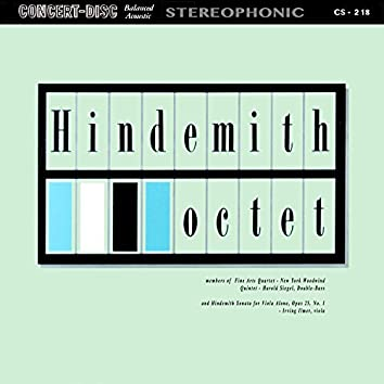 Hindemith: Octet & Sonata for Viola Alone, Op. 25, No. 1 (Remastered from the Original Concert-Disc Master Tapes)