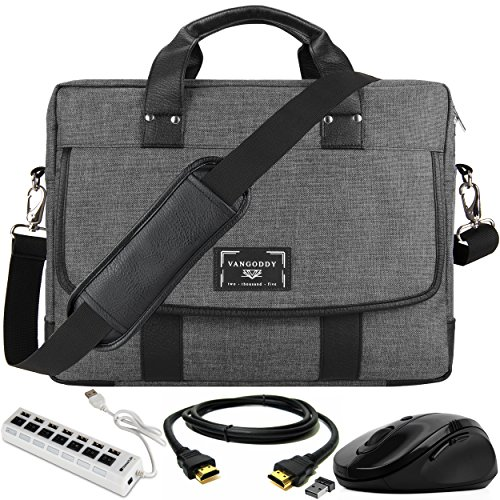 USB Hub, Mouse, HDMI Cable, Laptop Messenger Bag for Razer Blade 14', Chuwi AeroBook 13.3, Teclast F6 Pro 13