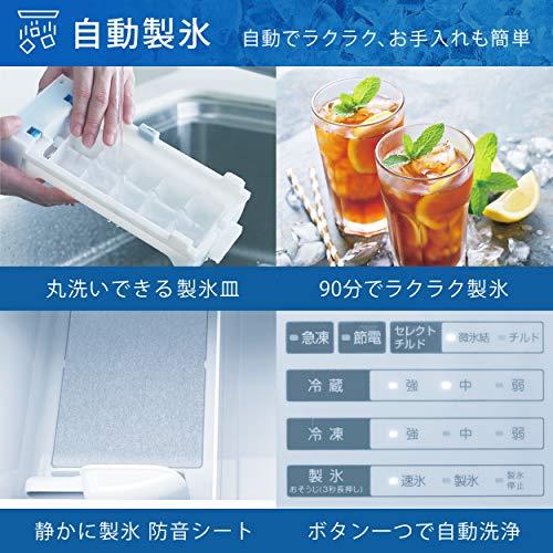 ハイセンス冷凍冷蔵庫(幅59.9cm)360L自動霜取機能付き3ドア右開きシルバー2020年モデルHR-D3601S