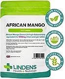 Lindens Mango Africano 1200mg COMPRESSE CONFEZIONE DA 100 UK produttore adatto per vegani e vegetariani