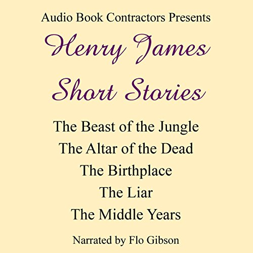 Henry James Short Stories audiobook cover art