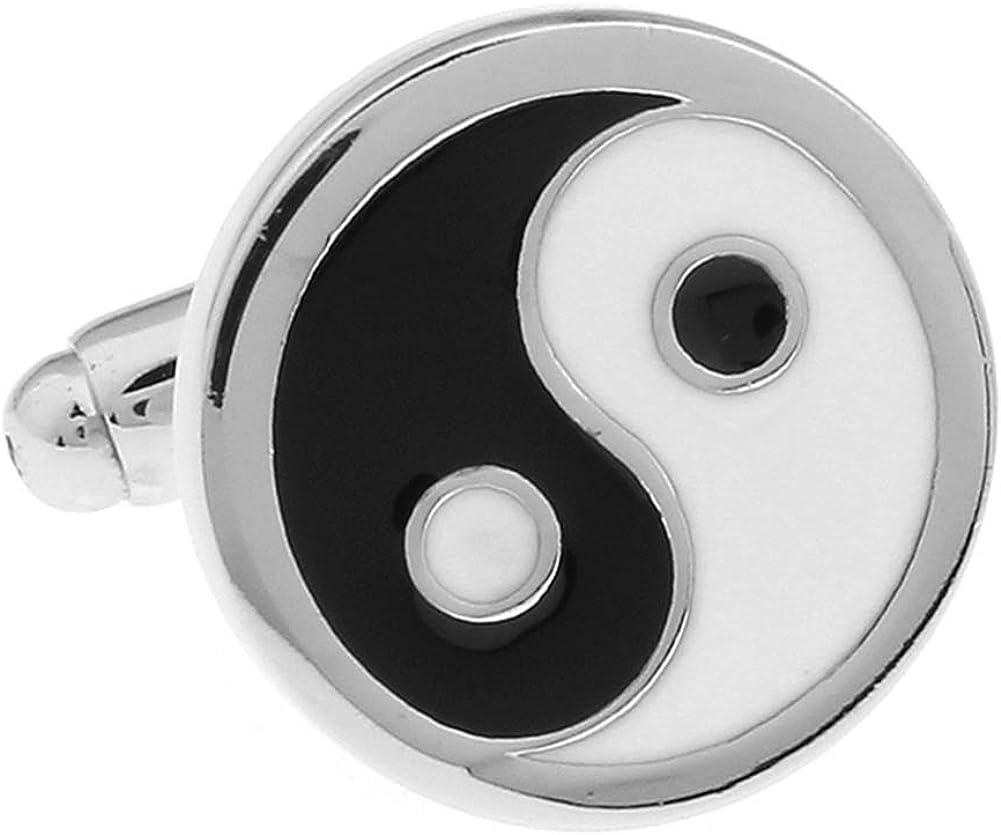 Yin and Yang Pair Cufflinks