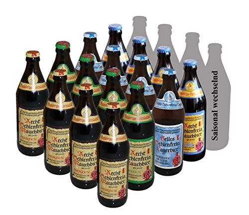 Exklusiver Direktversand von der Brauerei Schlenkerla (www.Schlenkerla.de): Lernen Sie Rauchbier kennen - 20er Paket'
