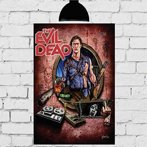 Placa Decorativa Mdf The Evil Dead 20cmx30cm