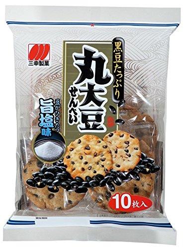 三幸製菓 丸大豆せんべい 旨塩味 10枚×12袋