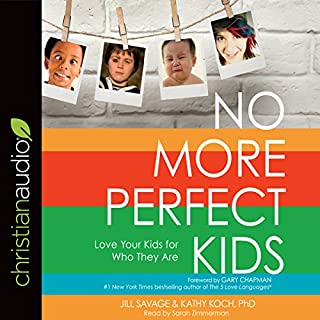 No More Perfect Kids audiobook cover art