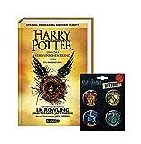 Harry Potter und das verwunschene Kind - Teil 1 & 2 (Special Rehearsal Edition) + 1. original Harry Potter Button