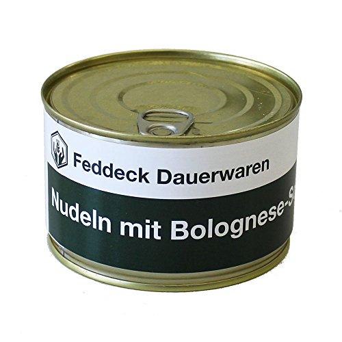 Conserve de Pâtes à la Bolognaise 400 g Feddeck Dauerwaren
