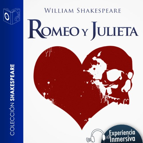 Romeo y Julieta [Romeo and Juliet] audiobook cover art