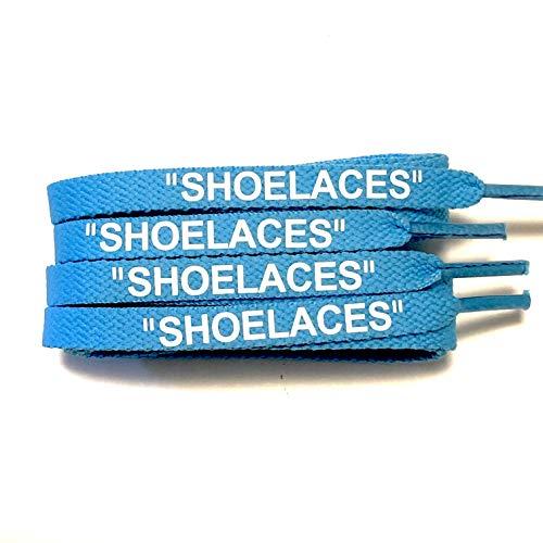 [KICKSROCK] SHOELACES (120cm, パウダーブルー(FLAT)