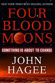 Paperback Four Blood Moons : Something Is about to Change Book