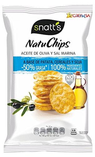 Snatts Grefusa - Natuchips Aceite De Oliva Y Sal Marina 85 g