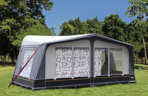 Camptech Savanna DL Seasonal Pitch Full Caravan Awning Size 15 1000-1025