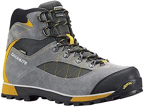 Dolomite Unisex-Erwachsene BOTA ZERNEZ GTX Trekking-& Wanderstiefel, Graphite Grey/Olive Green, 47 2/3 EU