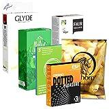 Der Kondomotheke® Vegan Pack, 6 Sorten vegane Kondome für Genuss ohne Tierleid - Kondome ohne...