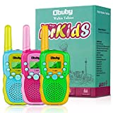Obuby Toys for 3-12 Year Old Boys, Walkie Talkies for Kids 22 Channels 2 Way Radio Gifts Toys with...