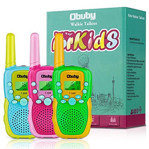 Obuby T-388 kid walkie talkie