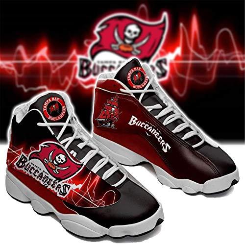Jerseys Buccaneers Fans Zapatos Zapatillas American Football LeagueComo Fanáticos(Size:Women's shoes39,Color:G1)