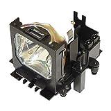 HFY Marbull Lámpara de repuesto con carcasa DT00601 para proyector HITACHI CP-HX6300 CP-HX6500 CP-HX6500A CP-SX1350 CP-SX1350W CP-X1230 CP-X1250 CP-X1250JCP-X1250W CP-X1350 HCP-7500X