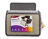SmartyKat, Scratch Scroll, Cat Scratcher, Interactive Cat Toy, Multi-Surface Carpet and Sisal, With Feathers