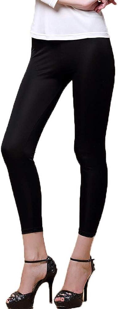LingDooo Women 100% Pure Silk Underwear Shirt Stretchy Legging Safety Wear Home Wear Cropped Pants