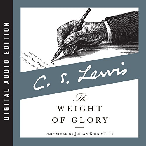 Weight of Glory audiobook cover art
