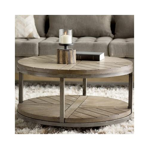 Groovy Round Wood Coffee Table Amazon Com Interior Design Ideas Gentotryabchikinfo