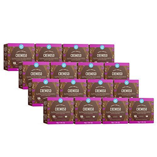 Marchio Amazon - Happy Belly Capsule A Modo Mio Cremoso - 256 Capsule (16 Pacchi x 16)