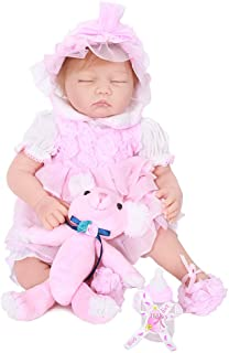 OtardDolls Silicone Baby Doll with Solid Silicone Limbs Realistic Silicone Doll for Collectors