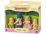 SYLVANIAN FAMILIES Sylvanian Families-8718637035846 Familia hámsteres, Multicolor (Epoch para Imaginar 5121)