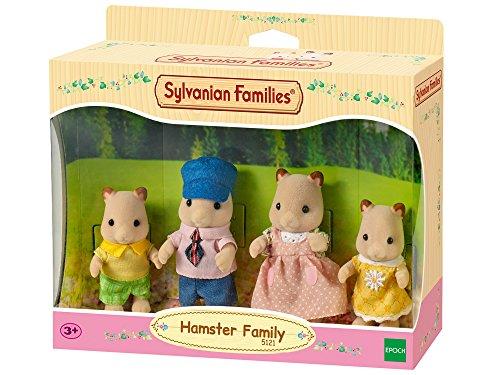 Sylvanian Families 5121 Hamster Family, Mehrfarbig