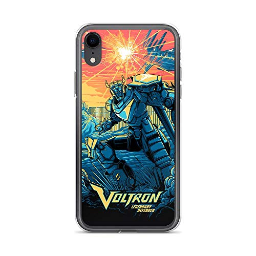 Bynight Compatible with iPhone 7 Plus/8 Plus Case Voltrons Legendarys Defenders American Animated Sci-Fi Web Series Complete Omnibuss Poster Pure Clear Phone Cases Cover